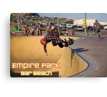 Nose-Grab Backside Air - Empire Park Skate Park  Canvas Print