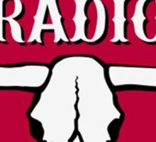 Rebel Radio Sticker