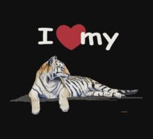 I love my tiger (for dark) by J-C Saint-Pô