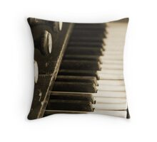 Music of the past. Throw Pillow