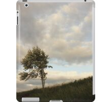 Tree at sunset, Ratho Canal iPad Case/Skin