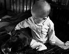 Me and You... Always... -Boxer Dogs Series- by Evita
