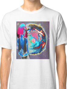 PSYCHEDELIC COSMIC WONDER Classic T-Shirt
