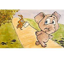 Run Eli! Photographic Print