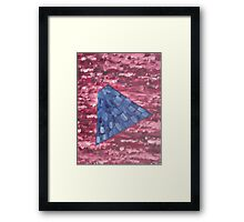 ABSTRACT 488 Framed Print