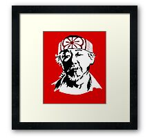 Mr. Miyagi - The Karate Kid Framed Print