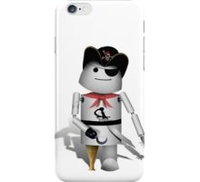 Robo-x9 Pirate iPhone Case/Skin