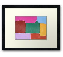 ABSTRACT 486 Framed Print