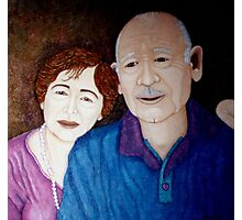 Celebrating a lifetime of love Photographic Print