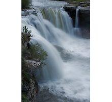 Lundbrick Falls at Runoff Photographic Print