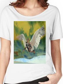 POLLUTION SKY Women's Relaxed Fit T-Shirt