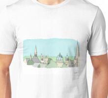 Oxford skyline in summer Unisex T-Shirt