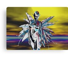 METALLIC ALIEN ELF Canvas Print