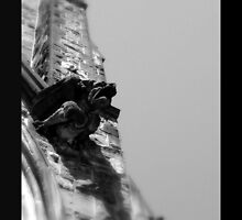 The Solitary Gargoyle by Geovoxic by geovoxic