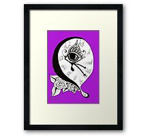 The Time Melts When I Watch – 2011 Framed Print