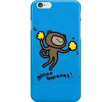 Go Bananas! Monkey iPhone Case/Skin