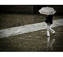 Burberry rain Photographic Print