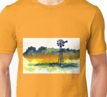A lonely windmill Unisex T-Shirt