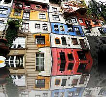 Hundertwasser House in Vienna by SkatingGirl