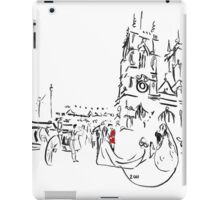 Royal Wedding - William and Kate at Westminster Abbey iPad Case/Skin