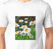 Moth on a Daisy Unisex T-Shirt