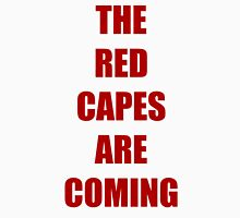Batman vs Superman The red capes are coming T-Shirt