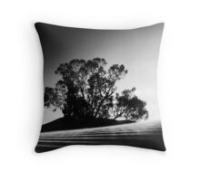 Whispering Tree - Perry Sand Hills - Wentworth, NSW, Australia Throw Pillow