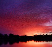 Sunset over the Lagoon by SouthBrisStorms