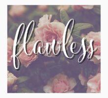 Flawless Floral Beyonce Design Kids Tee