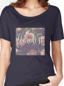 Flawless Floral Beyonce Design Women's Relaxed Fit T-Shirt