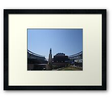 Outlook to Gillette Framed Print
