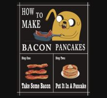 How To: Bacon Pancakes One Piece - Long Sleeve