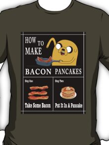 How To: Bacon Pancakes T-Shirt