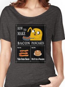 How To: Bacon Pancakes Women's Relaxed Fit T-Shirt