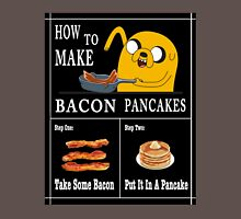 How To: Bacon Pancakes Unisex T-Shirt