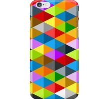 Modern funky colorful triangles pattern iPhone Case/Skin