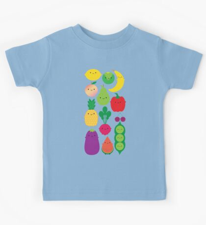 5 A Day Fruit & Vegetables Kids Tee