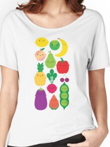 5 A Day Fruit & Vegetables Women's Relaxed Fit T-Shirt