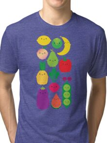 5 A Day Fruit & Vegetables Tri-blend T-Shirt