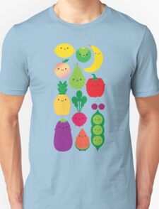 5 A Day Fruit & Vegetables Unisex T-Shirt