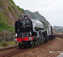 LNER 60163 'Tornado' at Teignmouth by Rorymacve