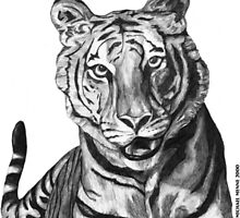 unrealistic tiger by sophw