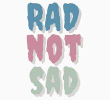 Rad Not Sad Creepster Design One Piece - Long Sleeve
