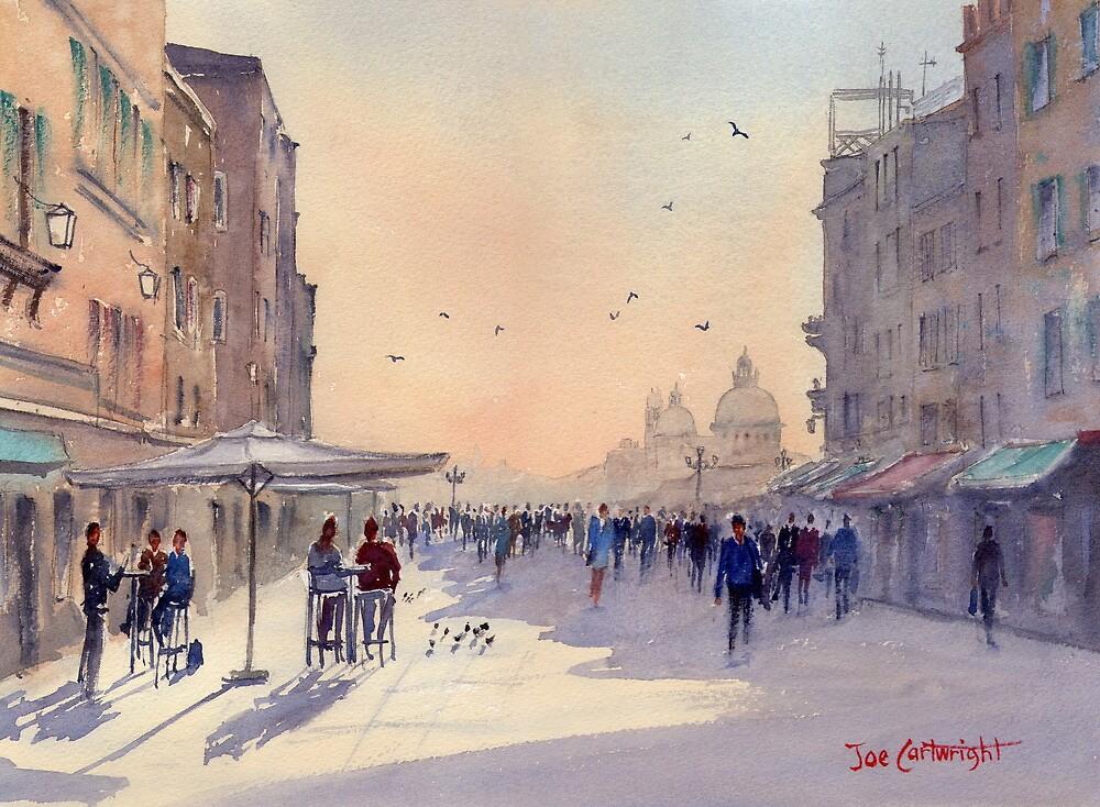 Venice from Via Garibaldi by Joe Cartwright