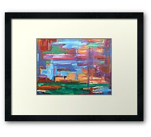 ABSTRACT 404 Framed Print