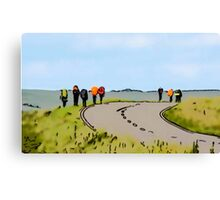 Hiking the Brecon Beacons Canvas Print