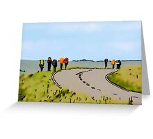 Hiking the Brecon Beacons Greeting Card