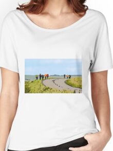 Hiking the Brecon Beacons Women's Relaxed Fit T-Shirt