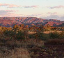 Dusky Mountains - Auski Roadhouse, Western Australia by Rosdenphoto