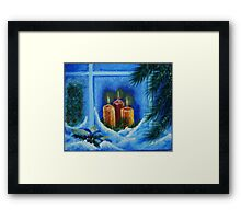 light up the way to your home Framed Print